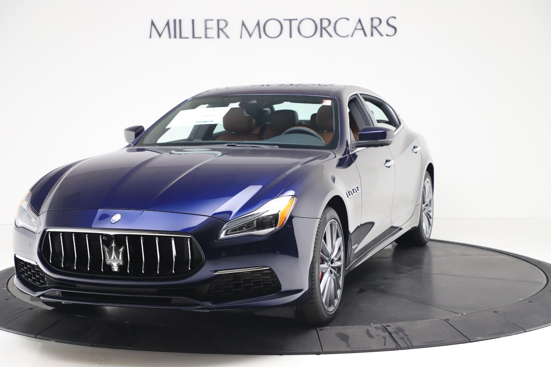 New 2020 Maserati Quattroporte S Q4 GranLusso for sale $117,935 at Pagani of Greenwich in Greenwich CT 06830 1