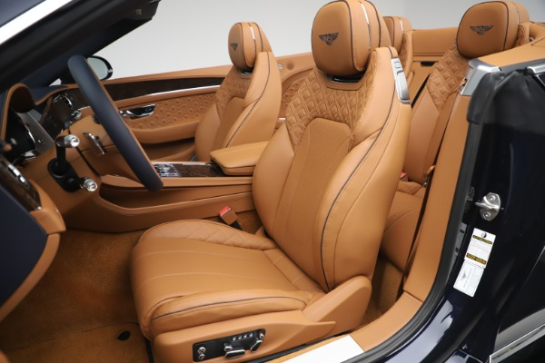 New 2020 Bentley Continental GTC W12 for sale Call for price at Pagani of Greenwich in Greenwich CT 06830 26