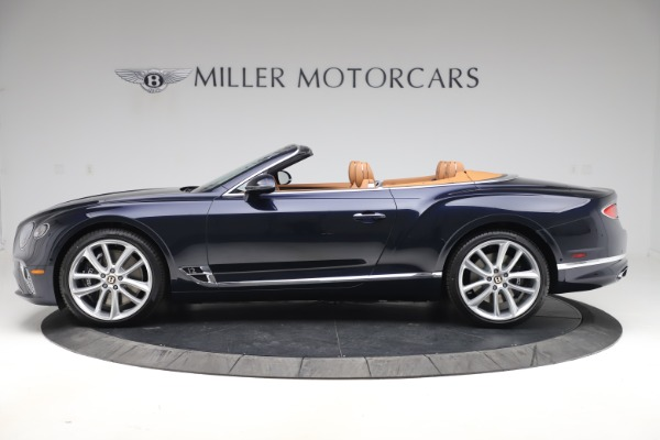 New 2020 Bentley Continental GTC W12 for sale Call for price at Pagani of Greenwich in Greenwich CT 06830 3