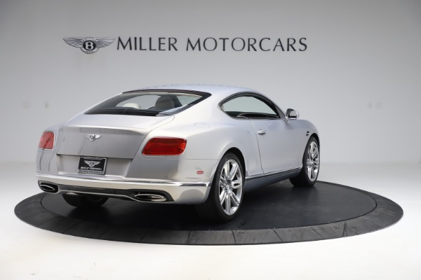 New 2016 Bentley Continental GT W12 for sale $128,900 at Pagani of Greenwich in Greenwich CT 06830 7