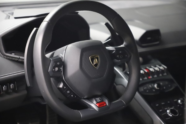 Used 2017 Lamborghini Huracan LP 580-2 for sale Sold at Pagani of Greenwich in Greenwich CT 06830 15