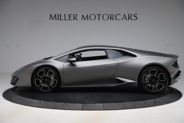 Used 2017 Lamborghini Huracan LP 580-2 for sale Sold at Pagani of Greenwich in Greenwich CT 06830 3