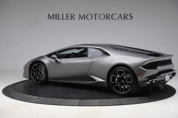 Used 2017 Lamborghini Huracan LP 580-2 for sale Sold at Pagani of Greenwich in Greenwich CT 06830 4