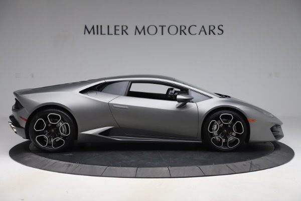 Used 2017 Lamborghini Huracan LP 580-2 for sale Sold at Pagani of Greenwich in Greenwich CT 06830 9