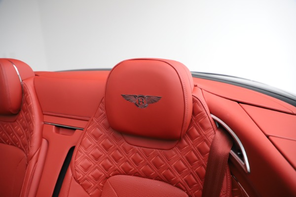 New 2020 Bentley Continental GTC V8 for sale Call for price at Pagani of Greenwich in Greenwich CT 06830 25