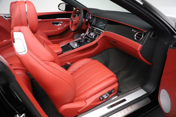 New 2020 Bentley Continental GTC V8 for sale Call for price at Pagani of Greenwich in Greenwich CT 06830 28