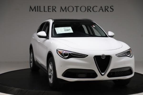 New 2020 Alfa Romeo Stelvio Q4 for sale $47,645 at Pagani of Greenwich in Greenwich CT 06830 11