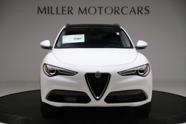 New 2020 Alfa Romeo Stelvio Q4 for sale $47,645 at Pagani of Greenwich in Greenwich CT 06830 12