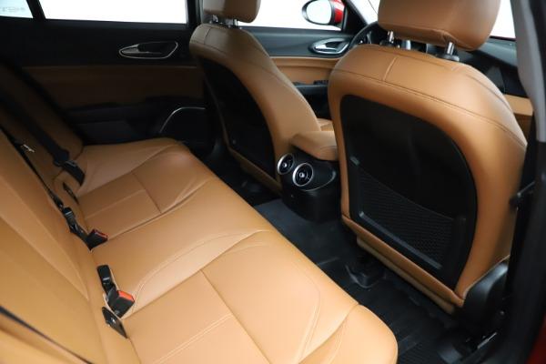 Used 2020 Alfa Romeo Giulia Q4 for sale $34,900 at Pagani of Greenwich in Greenwich CT 06830 21