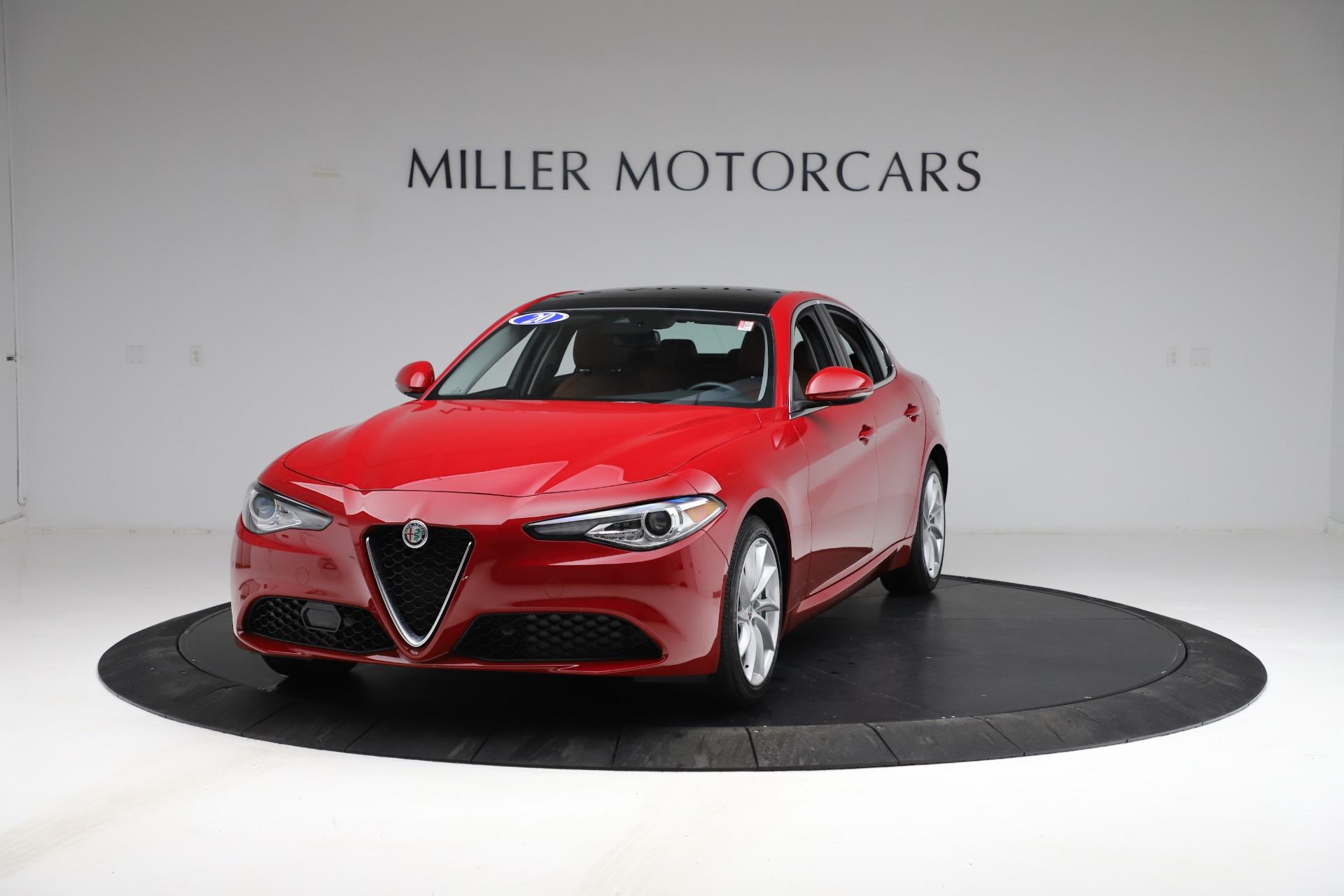 Used 2020 Alfa Romeo Giulia Q4 for sale $34,900 at Pagani of Greenwich in Greenwich CT 06830 1