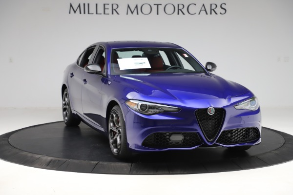 New 2020 Alfa Romeo Giulia Ti Sport Q4 for sale $50,445 at Pagani of Greenwich in Greenwich CT 06830 11