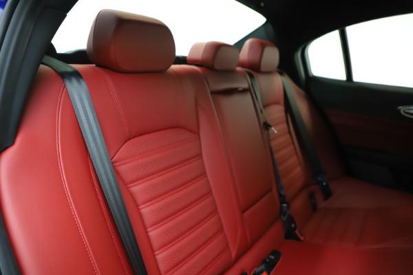 New 2020 Alfa Romeo Giulia Ti Sport Q4 for sale $50,445 at Pagani of Greenwich in Greenwich CT 06830 25