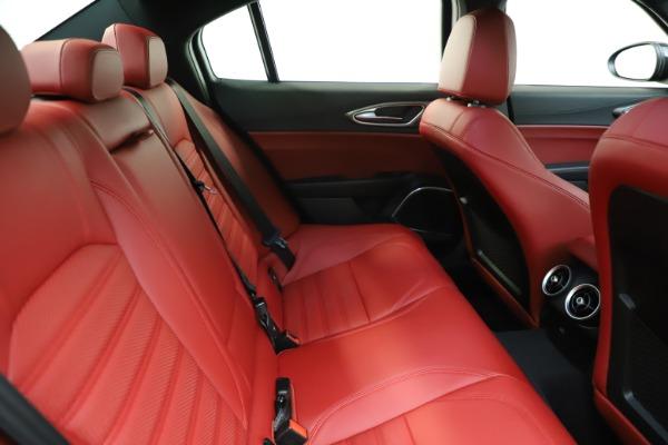 New 2020 Alfa Romeo Giulia Ti Sport Q4 for sale $50,445 at Pagani of Greenwich in Greenwich CT 06830 26