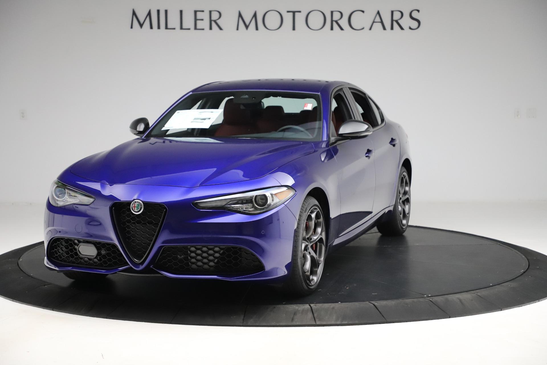 New 2020 Alfa Romeo Giulia Ti Sport Q4 for sale $50,445 at Pagani of Greenwich in Greenwich CT 06830 1