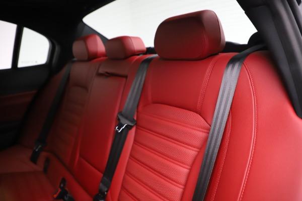 New 2020 Alfa Romeo Giulia Ti Sport Q4 for sale $52,595 at Pagani of Greenwich in Greenwich CT 06830 18