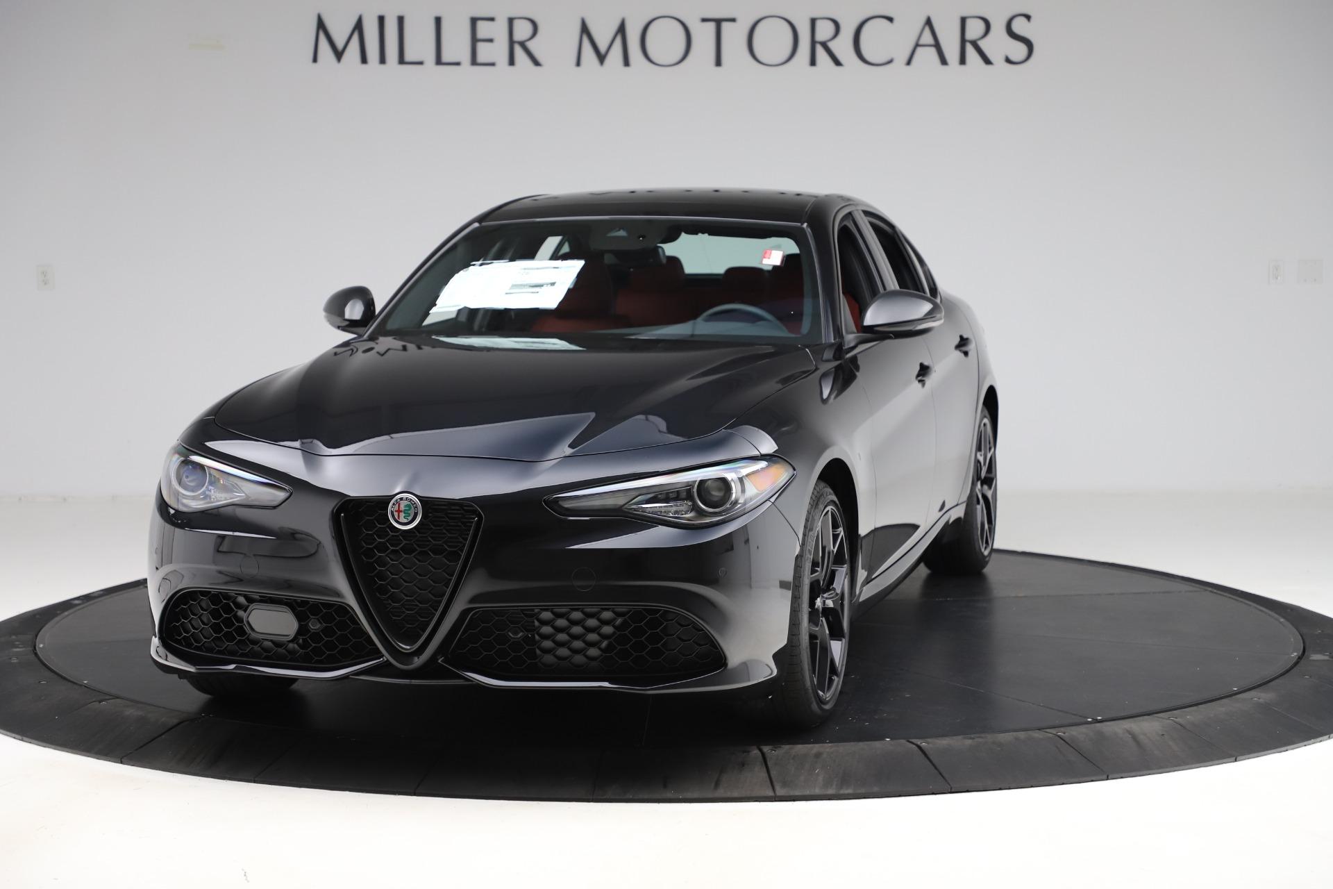 New 2020 Alfa Romeo Giulia Ti Sport Q4 for sale $52,595 at Pagani of Greenwich in Greenwich CT 06830 1
