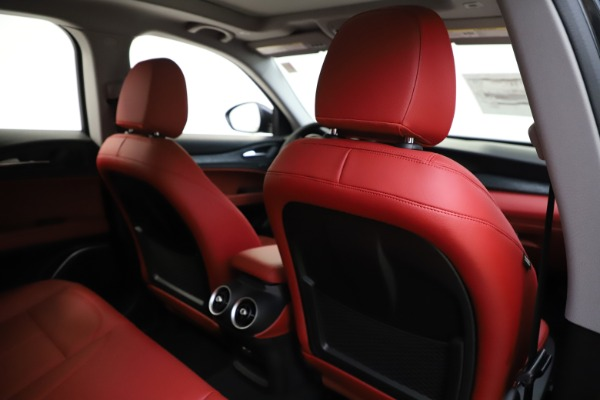 New 2020 Alfa Romeo Stelvio Sport Q4 for sale Sold at Pagani of Greenwich in Greenwich CT 06830 28