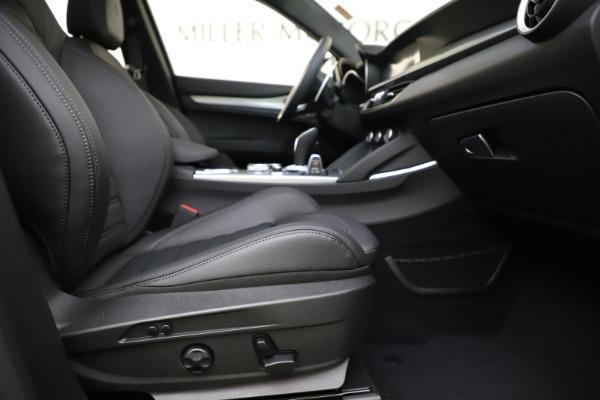 New 2020 Alfa Romeo Stelvio Ti Sport Q4 for sale $55,345 at Pagani of Greenwich in Greenwich CT 06830 23