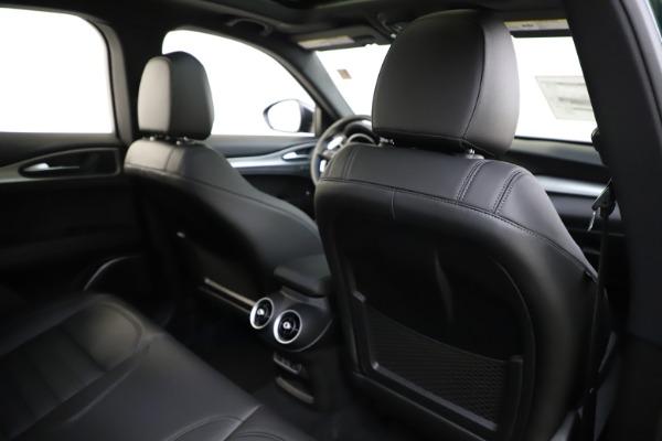 New 2020 Alfa Romeo Stelvio Ti Sport Q4 for sale $55,345 at Pagani of Greenwich in Greenwich CT 06830 28