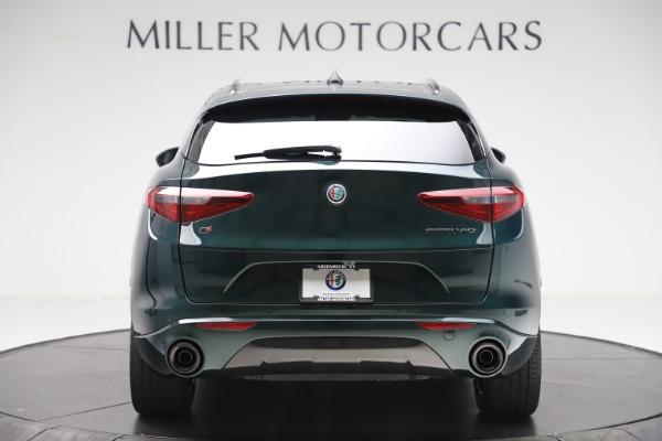 New 2020 Alfa Romeo Stelvio Ti Sport Q4 for sale $55,345 at Pagani of Greenwich in Greenwich CT 06830 6