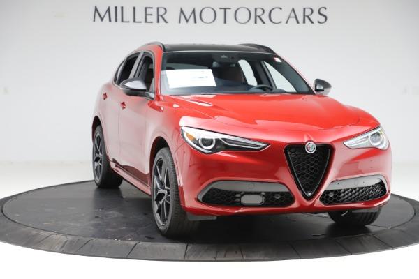New 2020 Alfa Romeo Stelvio Ti Sport Q4 for sale $58,045 at Pagani of Greenwich in Greenwich CT 06830 11