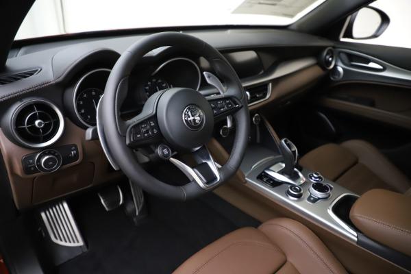 New 2020 Alfa Romeo Stelvio Ti Sport Q4 for sale $58,045 at Pagani of Greenwich in Greenwich CT 06830 13