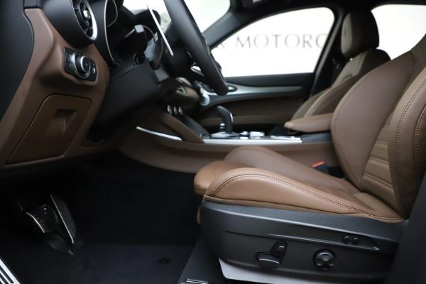 New 2020 Alfa Romeo Stelvio Ti Sport Q4 for sale $58,045 at Pagani of Greenwich in Greenwich CT 06830 14