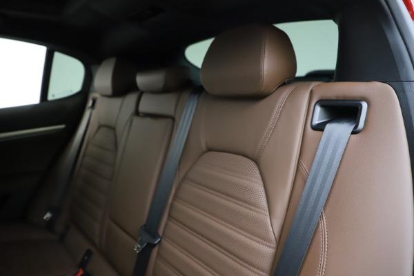 New 2020 Alfa Romeo Stelvio Ti Sport Q4 for sale $58,045 at Pagani of Greenwich in Greenwich CT 06830 18