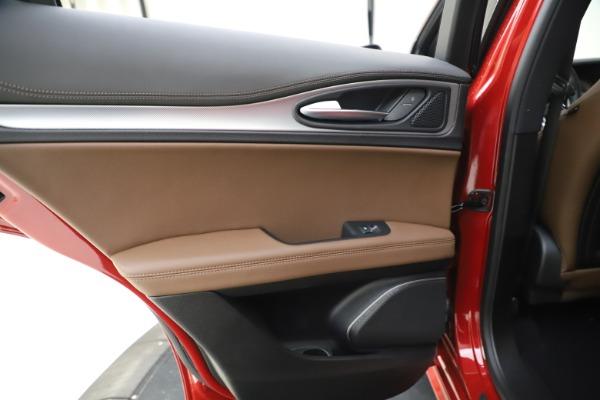 New 2020 Alfa Romeo Stelvio Ti Sport Q4 for sale $58,045 at Pagani of Greenwich in Greenwich CT 06830 21