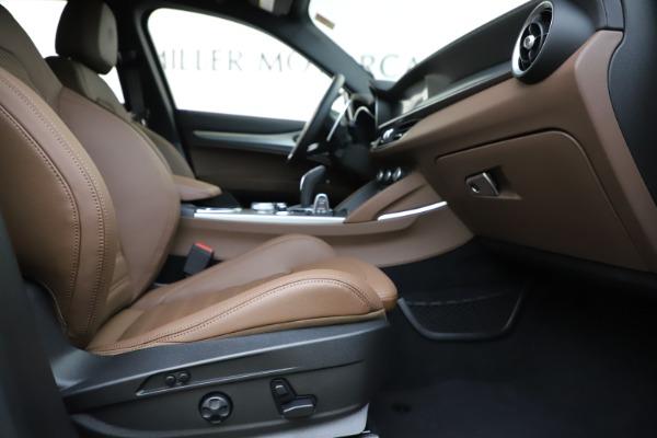 New 2020 Alfa Romeo Stelvio Ti Sport Q4 for sale $58,045 at Pagani of Greenwich in Greenwich CT 06830 23