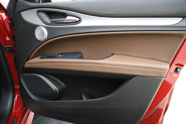 New 2020 Alfa Romeo Stelvio Ti Sport Q4 for sale $58,045 at Pagani of Greenwich in Greenwich CT 06830 25