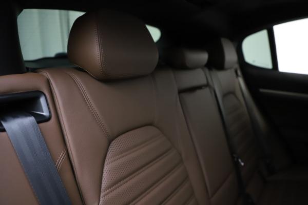 New 2020 Alfa Romeo Stelvio Ti Sport Q4 for sale $58,045 at Pagani of Greenwich in Greenwich CT 06830 26