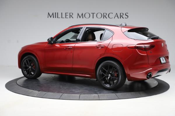 New 2020 Alfa Romeo Stelvio Ti Sport Q4 for sale $58,045 at Pagani of Greenwich in Greenwich CT 06830 4