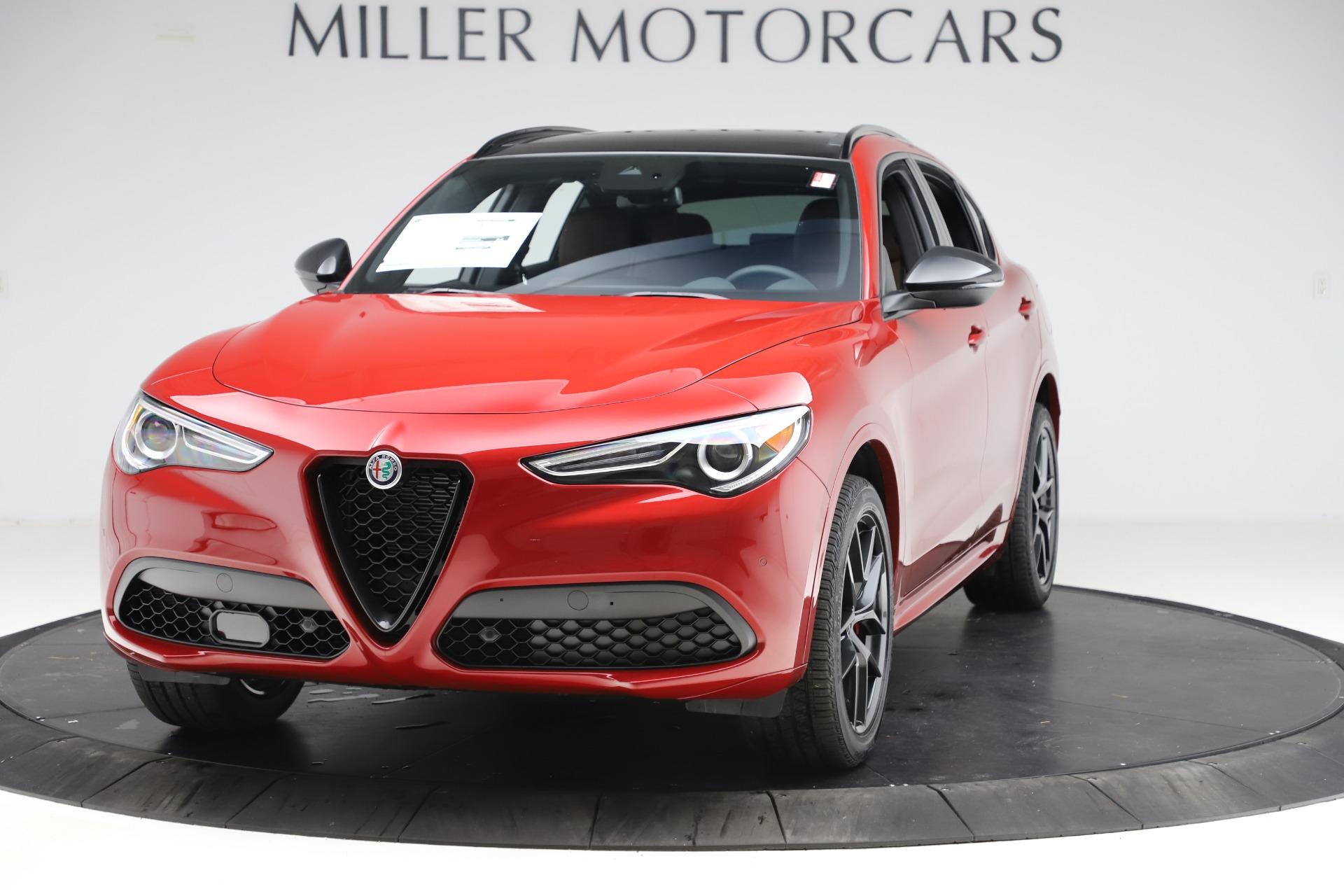 New 2020 Alfa Romeo Stelvio Ti Sport Q4 for sale $58,045 at Pagani of Greenwich in Greenwich CT 06830 1