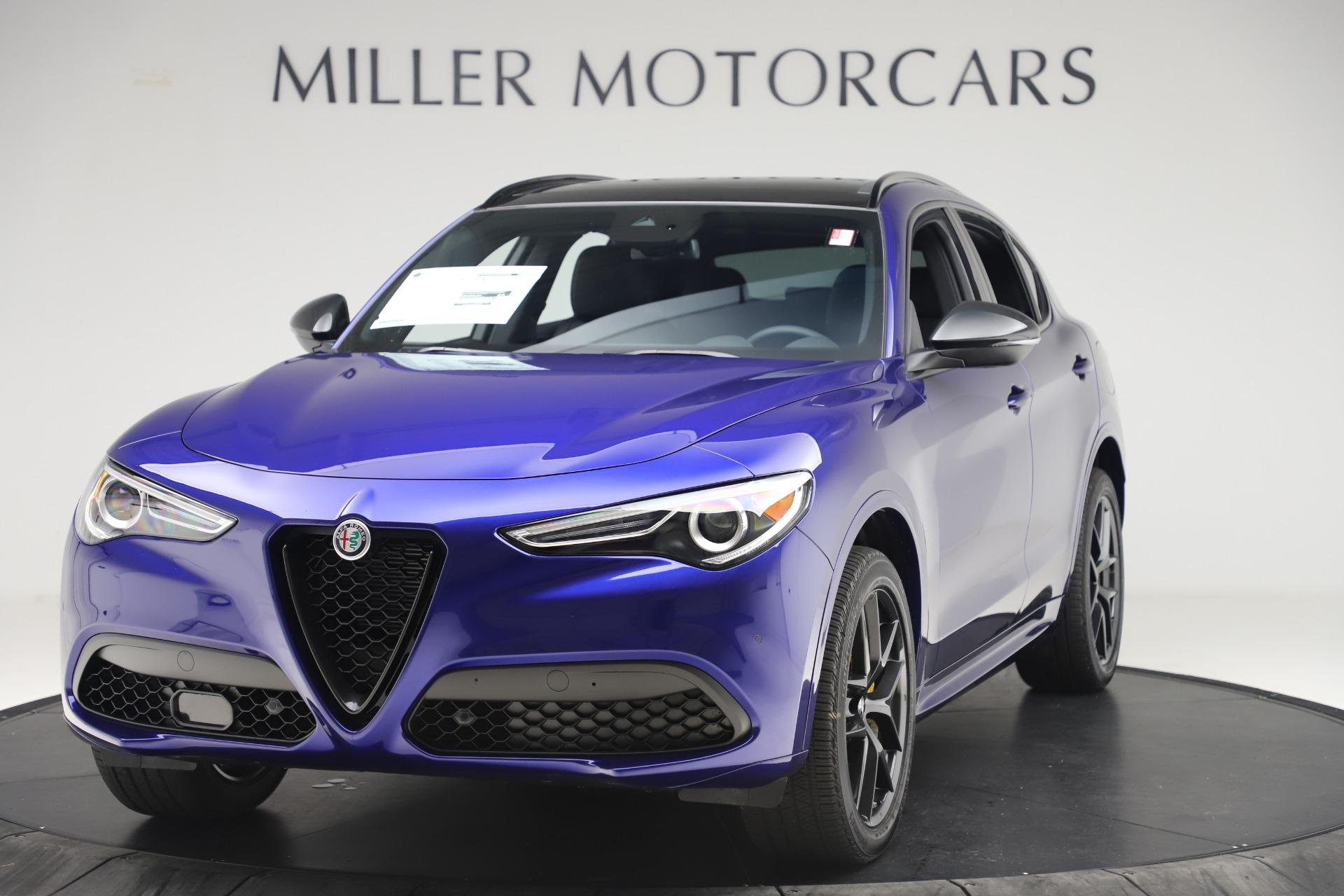 New 2020 Alfa Romeo Stelvio Ti Sport Q4 for sale $57,945 at Pagani of Greenwich in Greenwich CT 06830 1