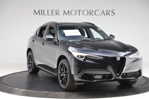 New 2020 Alfa Romeo Stelvio Ti Sport Q4 for sale $55,345 at Pagani of Greenwich in Greenwich CT 06830 11