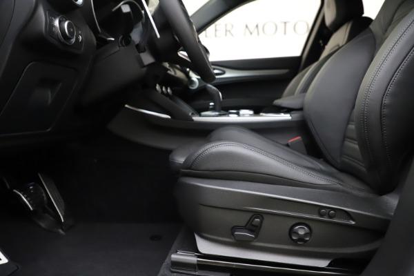 New 2020 Alfa Romeo Stelvio Ti Sport Q4 for sale $55,345 at Pagani of Greenwich in Greenwich CT 06830 14