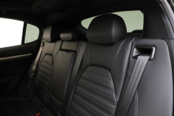 New 2020 Alfa Romeo Stelvio Ti Sport Q4 for sale $55,345 at Pagani of Greenwich in Greenwich CT 06830 18