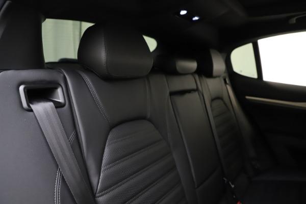 New 2020 Alfa Romeo Stelvio Ti Sport Q4 for sale $55,345 at Pagani of Greenwich in Greenwich CT 06830 26