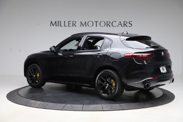 New 2020 Alfa Romeo Stelvio Ti Sport Q4 for sale $55,345 at Pagani of Greenwich in Greenwich CT 06830 4