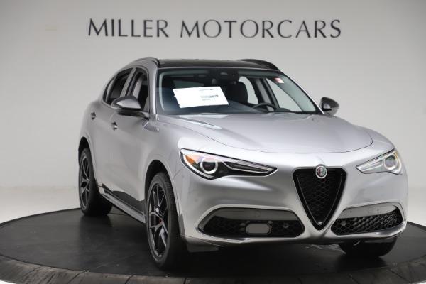 New 2020 Alfa Romeo Stelvio Sport Q4 for sale $51,095 at Pagani of Greenwich in Greenwich CT 06830 11