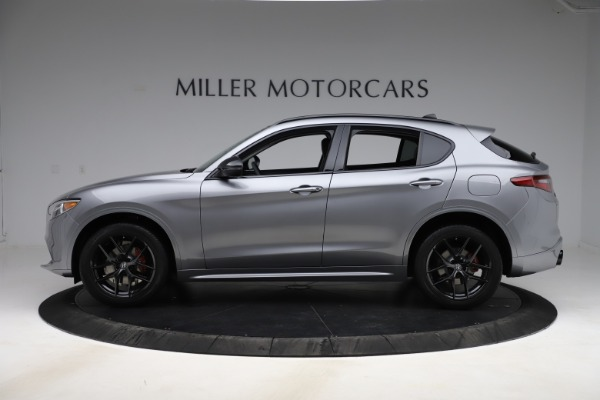 New 2020 Alfa Romeo Stelvio Sport Q4 for sale $51,095 at Pagani of Greenwich in Greenwich CT 06830 3