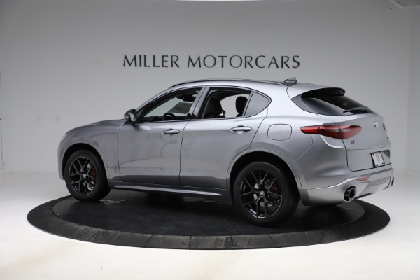 New 2020 Alfa Romeo Stelvio Sport Q4 for sale $51,095 at Pagani of Greenwich in Greenwich CT 06830 4