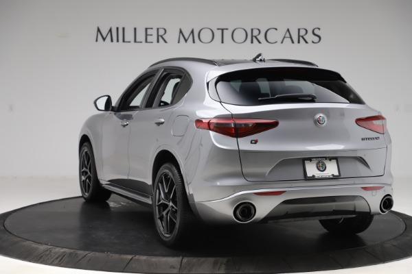 New 2020 Alfa Romeo Stelvio Sport Q4 for sale $51,095 at Pagani of Greenwich in Greenwich CT 06830 5
