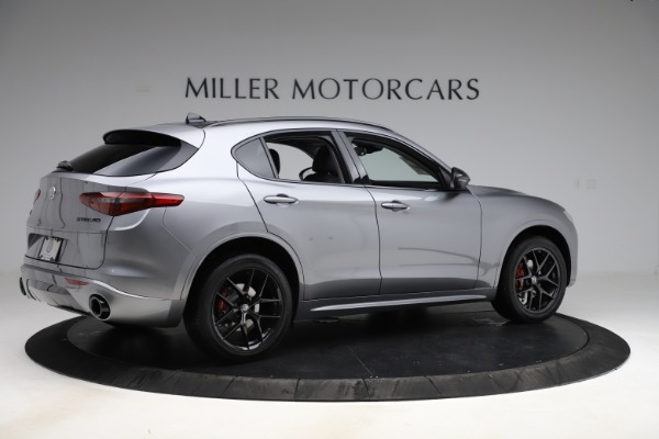 New 2020 Alfa Romeo Stelvio Sport Q4 for sale $51,095 at Pagani of Greenwich in Greenwich CT 06830 8