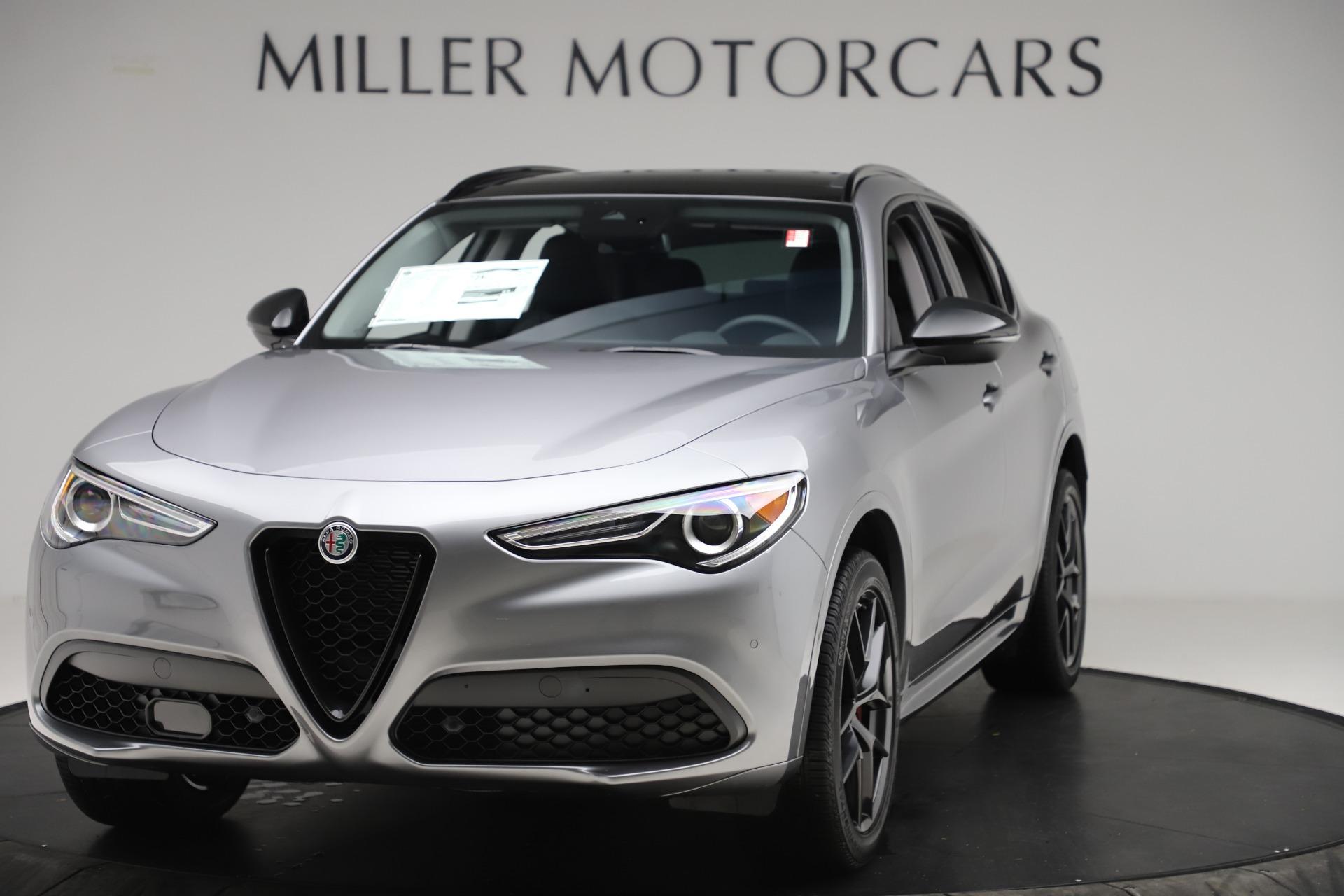 New 2020 Alfa Romeo Stelvio Sport Q4 for sale $51,095 at Pagani of Greenwich in Greenwich CT 06830 1