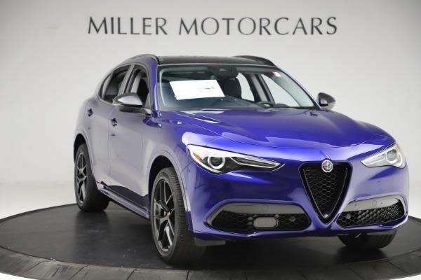 New 2020 Alfa Romeo Stelvio Ti Q4 for sale Sold at Pagani of Greenwich in Greenwich CT 06830 11