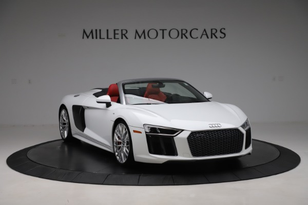 Used 2017 Audi R8 5.2 quattro V10 Spyder for sale $138,900 at Pagani of Greenwich in Greenwich CT 06830 11