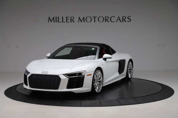 Used 2017 Audi R8 5.2 quattro V10 Spyder for sale $138,900 at Pagani of Greenwich in Greenwich CT 06830 13
