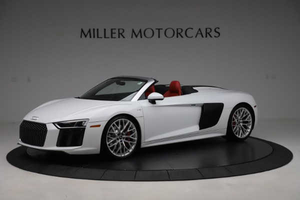 Used 2017 Audi R8 5.2 quattro V10 Spyder for sale $138,900 at Pagani of Greenwich in Greenwich CT 06830 2